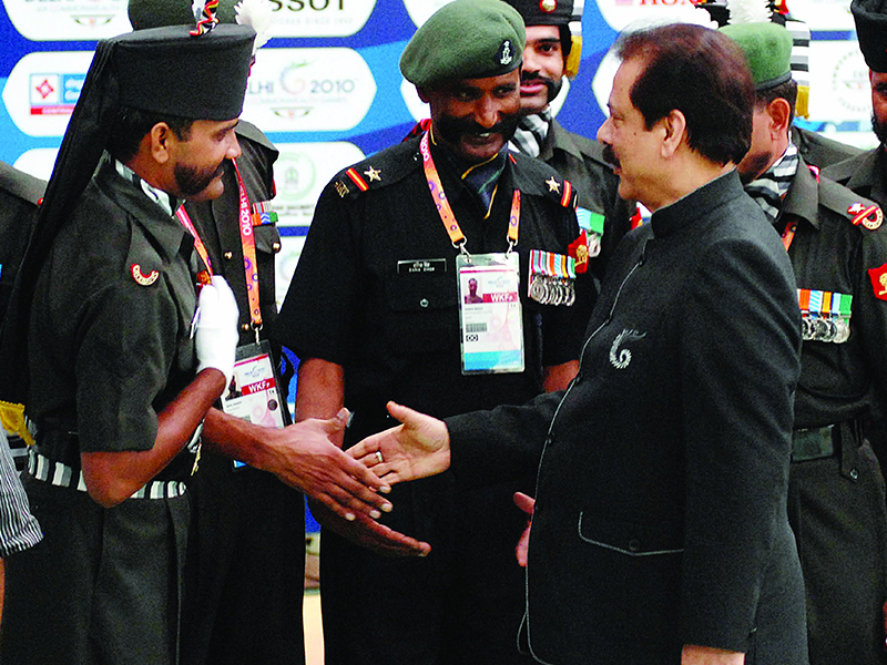 Subrata Roy Sahara Indian Army