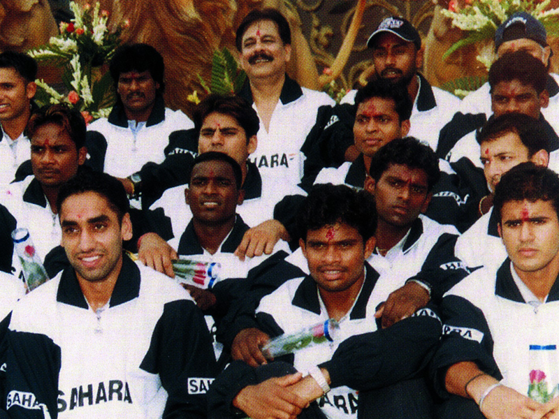 Subrata Roy Sahara Team