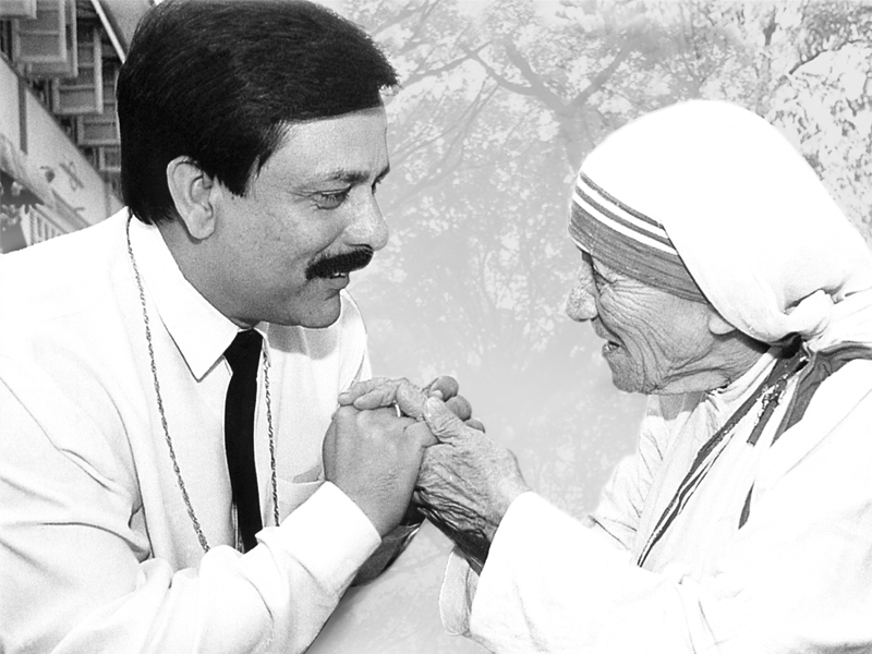 Subrata Roy Sahara Mother Teresa