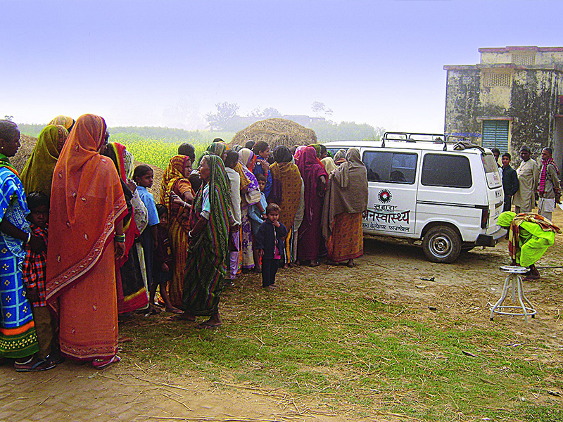 Subrata Roy Sahara Relief Camp